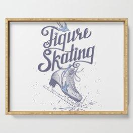 Figure skating Serving Tray