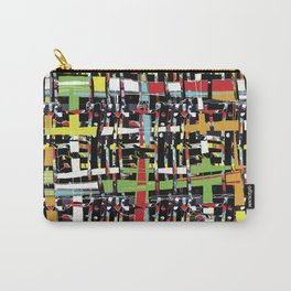 WOVEN digital, HAND DRAWN Carry-All Pouch