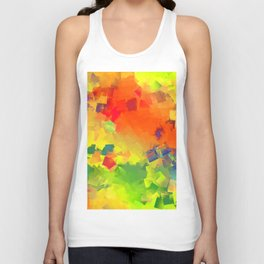 Happy party Unisex Tank Top