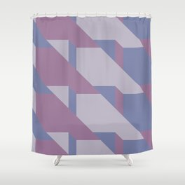 Lavender Way #society6 #lavender #pattern Shower Curtain