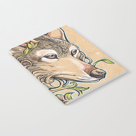 Dog of the Mountain - Honshu Wolf Notebook