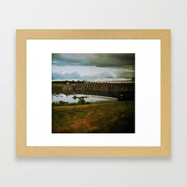 Long Sault Framed Art Print