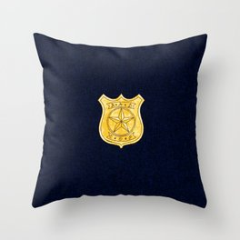 Bad Cop Throw Pillow