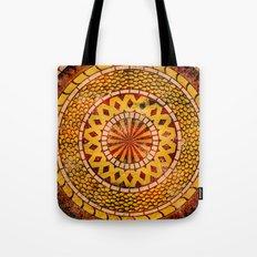 Four Dragons Mandala Tote Bag