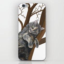 Tree Cat iPhone Skin