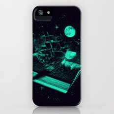 Crossing the Rough Sea of Knowledge   Slim Case iPhone (5, 5s)