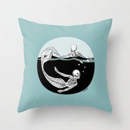 Stone Cold Sea Dwellers Throw Pillow