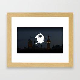 No Shit Sherlock Framed Art Print