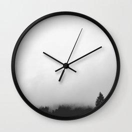 Black Forest Fog Wall Clock