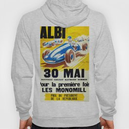 Vintage French Racing Poster Hoody