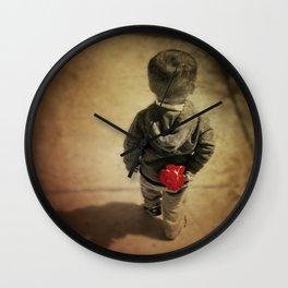 Blossom of humanity Wall Clock