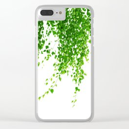 Green Leaves Delight #1 #tropical #decor #art #society6 Clear iPhone Case