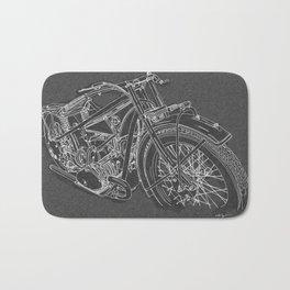Vintage BMW R32 Motorcycle Bath Mat