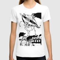 led zeppelin T-shirts featuring Zeppelin by Saskia Juliette