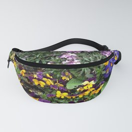 multicolor flowers Fanny Pack