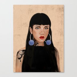 Rebel Girl IV Canvas Print