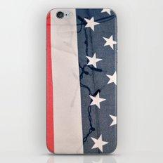Flag Lights iPhone & iPod Skin