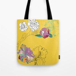 Sunshine orchids Tote Bag
