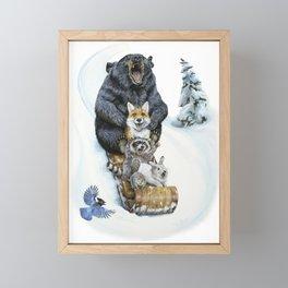 The Big Hill Framed Mini Art Print