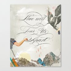 L.W.T.U.A (Love will tear us apart) Canvas Print