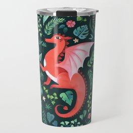 Tropical Dragon Travel Mug