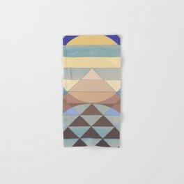 Pyramid Sun Turquoise Hand & Bath Towel