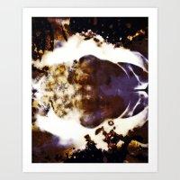 Clouds Obscura Art Print