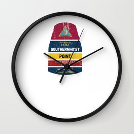 300968 SouthernMostPoint2 101218 Wall Clock