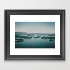 Gulf Islands Framed Art Print