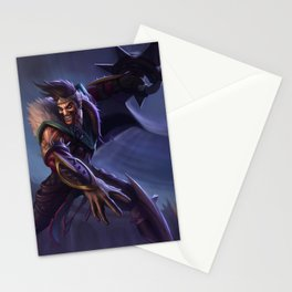 Classic Draven League of Legends Stationery Cards