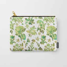 Beautiful Botanical Pattern Carry-All Pouch