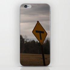 T Road iPhone & iPod Skin