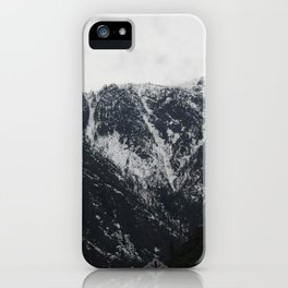 Mystery in the Cascades of Leavenworth iPhone Case