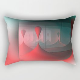 colors and mirrors Rectangular Pillow
