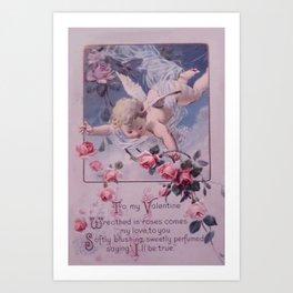 A Century Ago (Rose Tones) Art Print