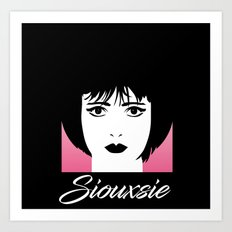 Siouxsie Art Print