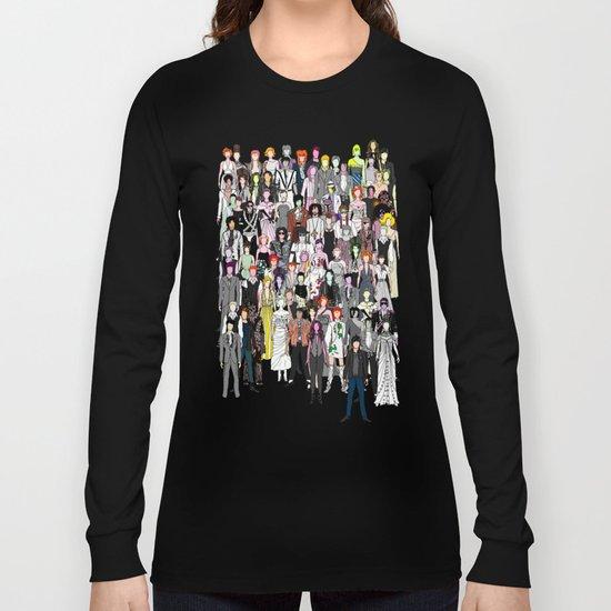 Tokyo Punks - Retro Green Long Sleeve T-shirt