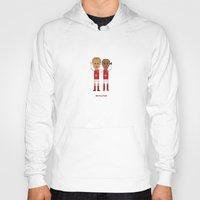 arsenal Hoodies featuring Bergkamp and Henry in Arsenal by 8bit Football