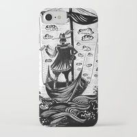 voyage iPhone & iPod Cases featuring Voyage by Daizy Boo