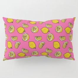 Retro Lemon Pop Pillow Sham