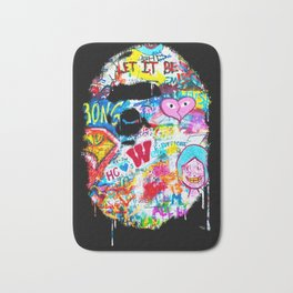Graffiti Hypebeast Bape Illustration Bath Mat