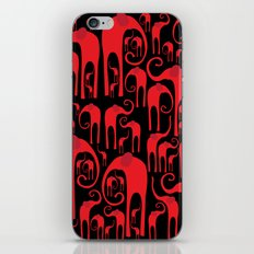 Elephant Herd iPhone & iPod Skin