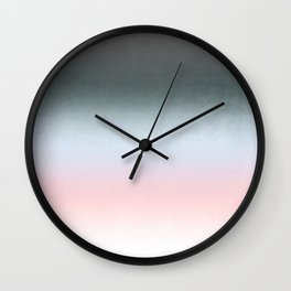 Stormy sky , Ombre Wall Clock