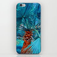 palm tree iPhone & iPod Skins featuring Palm Tree by DistinctyDesign
