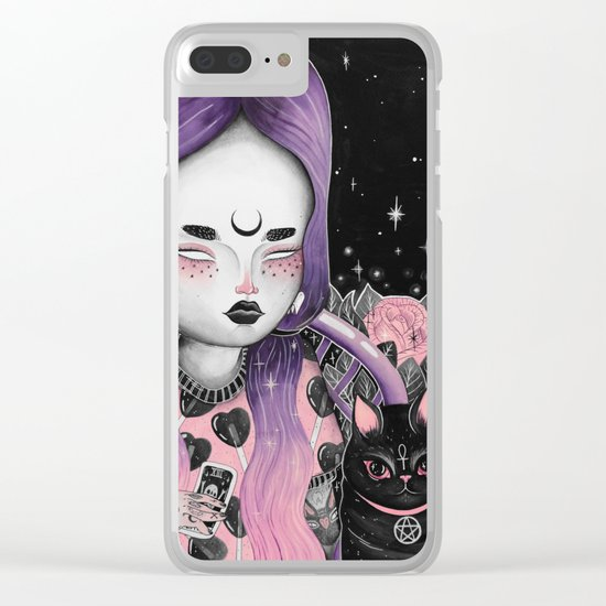 Midsummer Night's Divination . XIII Clear iPhone Case