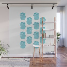 CD Infographics Wall Mural