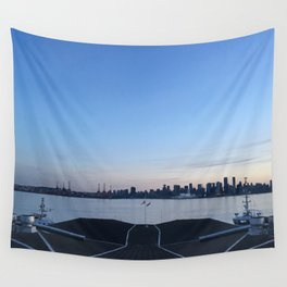 Sunset in North Vancouver Wall Tapestry