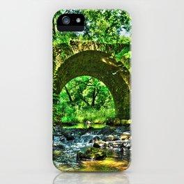 Historic Point Douglass-St. Louis River Road Bridge iPhone Case