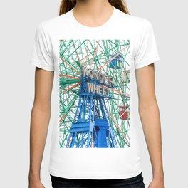 Wonder Wheel Coney Island (Brooklyn USA) T-shirt