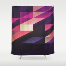 synthblyck Shower Curtain